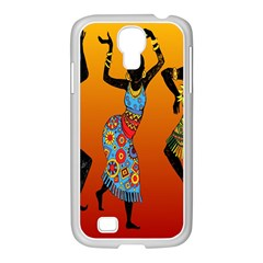 Dancing Samsung Galaxy S4 I9500/ I9505 Case (white) by AnjaniArt