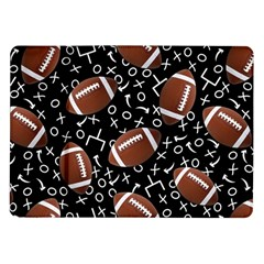 Football Player Samsung Galaxy Tab 10 1  P7500 Flip Case by AnjaniArt
