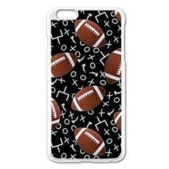 Football Player Apple Iphone 6 Plus/6s Plus Enamel White Case