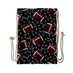 Football Player Drawstring Bag (small)