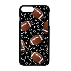 Football Player Apple Iphone 7 Plus Seamless Case (black)