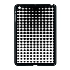 Dark Circles Halftone Black White Copy Apple Ipad Mini Case (black)