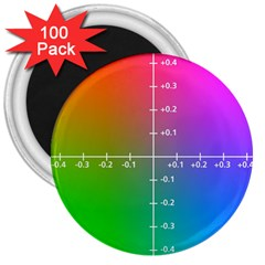 Formula Plane Rainbow 3  Magnets (100 Pack)