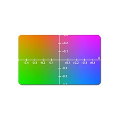 Formula Plane Rainbow Magnet (name Card) by AnjaniArt