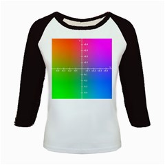 Formula Plane Rainbow Kids Baseball Jerseys by AnjaniArt