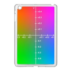 Formula Plane Rainbow Apple Ipad Mini Case (white)
