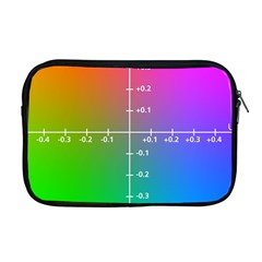Formula Plane Rainbow Apple Macbook Pro 17  Zipper Case