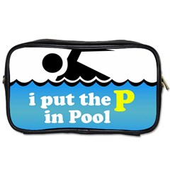 Funny Swiming Water Toiletries Bags 2 Side by AnjaniArt