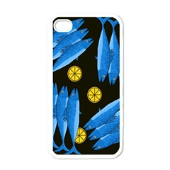 Mackerel Meal Apple Iphone 4 Case (white) by Valentinaart