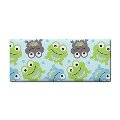 Frog Green Cosmetic Storage Cases by AnjaniArt