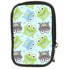 Frog Green Compact Camera Cases