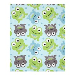 Frog Green Shower Curtain 60  X 72  (medium)  by AnjaniArt