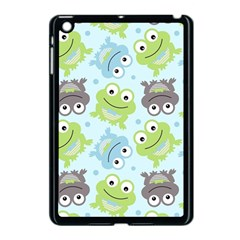 Frog Green Apple Ipad Mini Case (black)