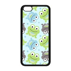 Frog Green Apple Iphone 5c Seamless Case (black)