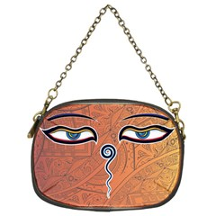 Face Eye Chain Purses (two Sides)  by AnjaniArt