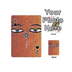 Face Eye Playing Cards 54 (mini)
