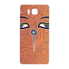 Face Eye Samsung Galaxy Alpha Hardshell Back Case
