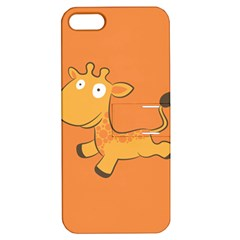 Giraffe Copy Apple Iphone 5 Hardshell Case With Stand