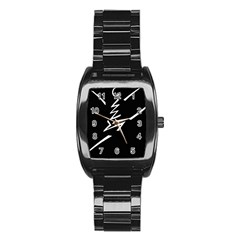 Great Gig Dance Stainless Steel Barrel Watch
