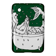 Green Mermaid Samsung Galaxy Tab 2 (7 ) P3100 Hardshell Case