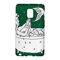 Green Mermaid Galaxy Note Edge by AnjaniArt