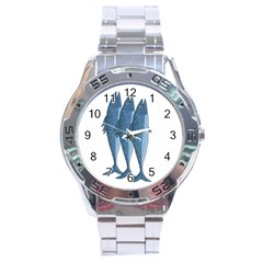 Mackerel Stainless Steel Analogue Watch by Valentinaart