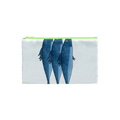 Mackerel Cosmetic Bag (xs) by Valentinaart