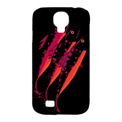 Red Fish Samsung Galaxy S4 Classic Hardshell Case (pc+silicone) by Valentinaart