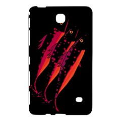 Red Fish Samsung Galaxy Tab 4 (8 ) Hardshell Case  by Valentinaart