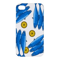 Mackerel Meal 2 Apple Iphone 4/4s Hardshell Case