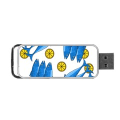 Mackerel Meal 2 Portable Usb Flash (two Sides) by Valentinaart