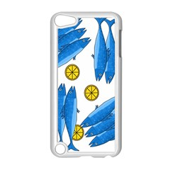 Mackerel Meal 2 Apple Ipod Touch 5 Case (white) by Valentinaart