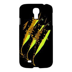Yellow Fish Samsung Galaxy S4 I9500/i9505 Hardshell Case by Valentinaart