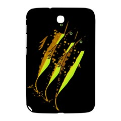 Yellow Fish Samsung Galaxy Note 8 0 N5100 Hardshell Case  by Valentinaart