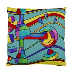 Abstract Machine Standard Cushion Case (two Sides) by Valentinaart