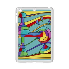 Abstract Machine Ipad Mini 2 Enamel Coated Cases by Valentinaart