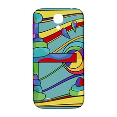 Abstract Machine Samsung Galaxy S4 I9500/i9505  Hardshell Back Case by Valentinaart