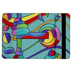 Abstract Machine Ipad Air Flip by Valentinaart