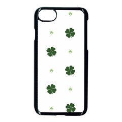 Green Leaf Apple Iphone 7 Seamless Case (black)