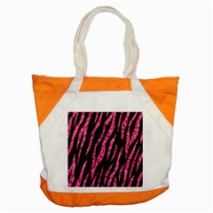 Skin3 Black Marble & Pink Marble Accent Tote Bag by trendistuff