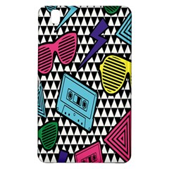 Glasses Cassette Samsung Galaxy Tab Pro 8 4 Hardshell Case by AnjaniArt