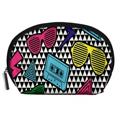 Glasses Cassette Accessory Pouches (large)  by AnjaniArt