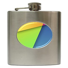 Lock Screen Hip Flask (6 Oz)