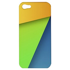 Lock Screen Apple Iphone 5 Hardshell Case by AnjaniArt