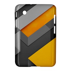 Marshmallow Yellow Samsung Galaxy Tab 2 (7 ) P3100 Hardshell Case  by AnjaniArt