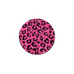Skin5 Black Marble & Pink Marble Golf Ball Marker (10 Pack) by trendistuff