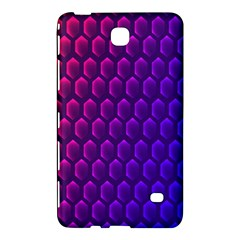 Outstanding Hexagon Blue Purple Samsung Galaxy Tab 4 (8 ) Hardshell Case