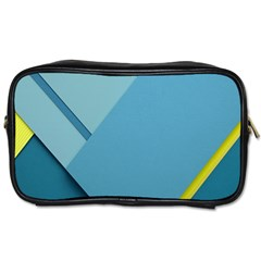 New Bok Blue Toiletries Bags 2 Side by AnjaniArt