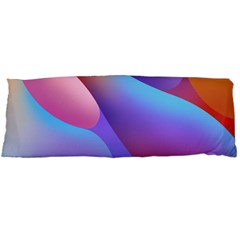 Color Orange Copy Body Pillow Case (dakimakura)