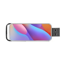 Color Orange Copy Portable Usb Flash (one Side) by AnjaniArt